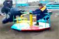 Galna ryssar i lekparken