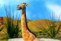 Giraff i quicksand