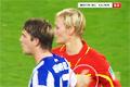 Taffsande fotbollsspelare