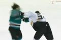 Hockeyfight mellan Aaron Voros och Douglas Murray