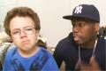 Keenan Cahill med 50 Cent