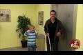Kid Tricks Blind Man Prank