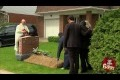 Front Yard Funeral Prank