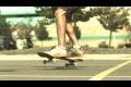 Skateboard trick i slow mo
