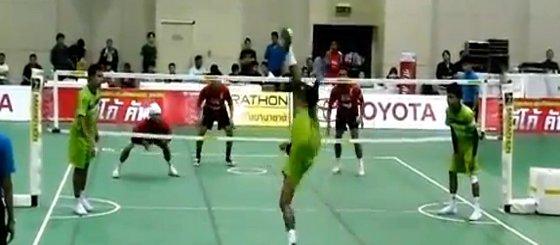 Kung Fu + Volleyboll + Fotboll = EPICNESS