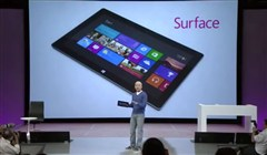 Microsoft Surface Tablet kraschar under Presentation