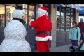 Funny - Christmas Prank scaring Santa Clause  - Season 2 Episode 3