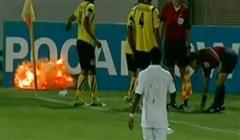 Dynamit i fotbollsplan?