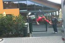 Gate Jump Faceplant
