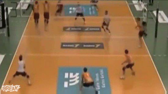 Volleyboll headshot