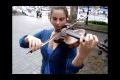 Pirates of the Caribbean on the violin