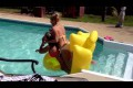 Fail in the pool