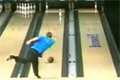 Bowling trick -  flying eagle